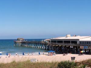 Cocoa Beach Pier in Florida