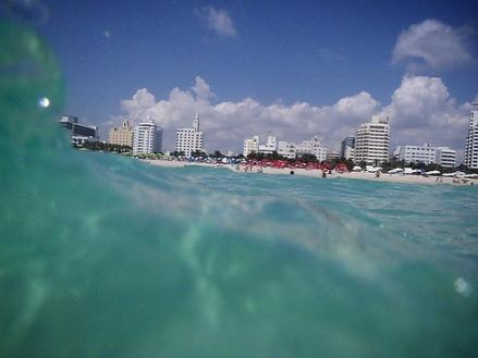 South Beach in Miami, FL