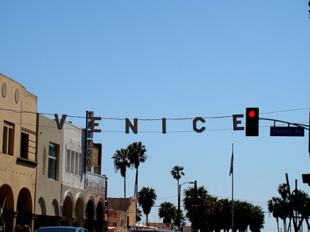 The Entrance to Venice Beach