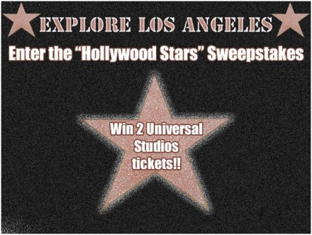 """Hollywood Stars"" Sweepstakes"