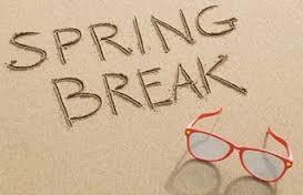 Enjoy your spring break!