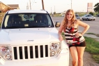 Jeep Liberty - Way different than my Chevy Cobalt!