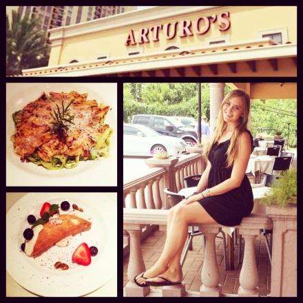 Lunch at Arturo's Uptown Italiano