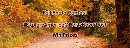 Show us where you're going this Fall! Click here to enter.