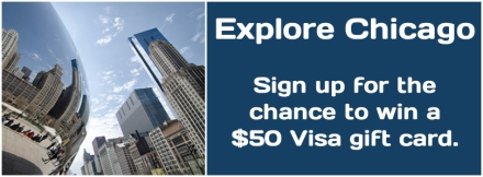 Sign up to win a $50 Visa gift card. Click here to enter.