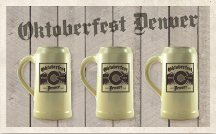 Reserve your Oktoberfest Denver stein today!