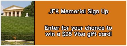 JFK Memorial Banner