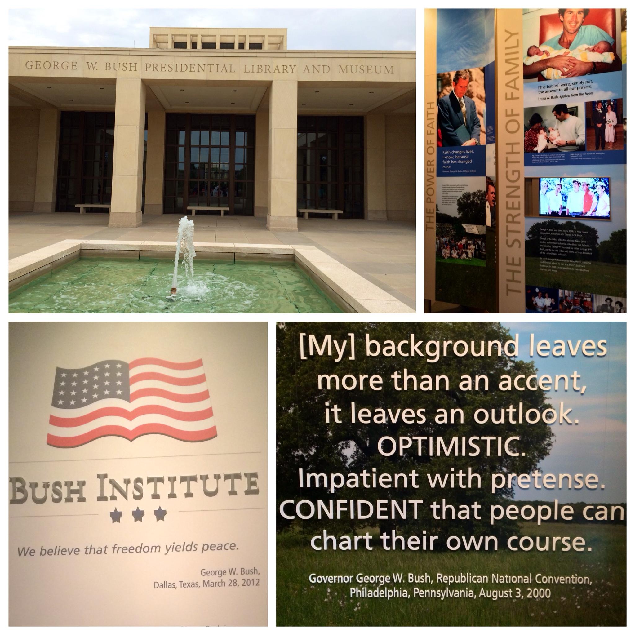 bush insitute summer of presidents hertz neverlost blog  at reclaimingppi.co