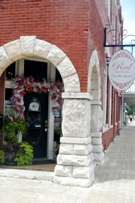 One of many cute boutiques!