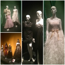 Some of the dresses we saw!