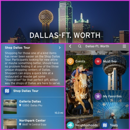 Shop Dallas Tour