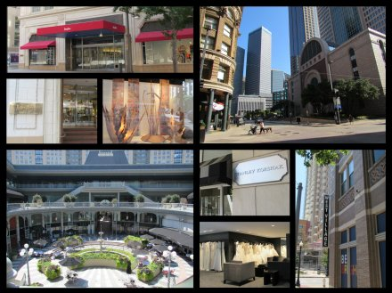 West Village is amazing and Stanley Korshak and Neiman Marcus Downtown seem great too!