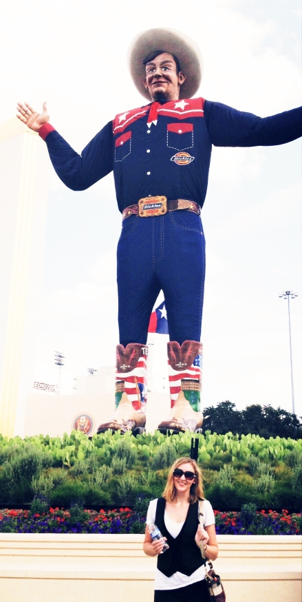 Hanging out with Big Tex